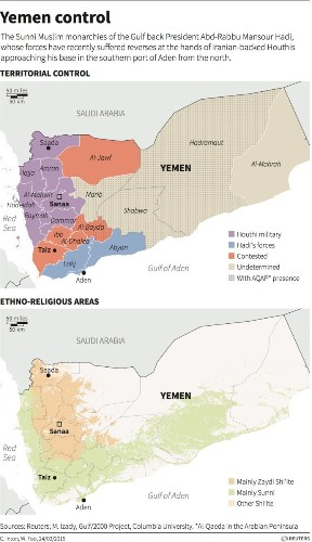 Officials: Yemen's president just fled the country by boat