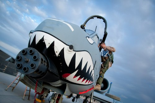 Watch one of the baddest A-10 pilots ever land after being hit by a missile