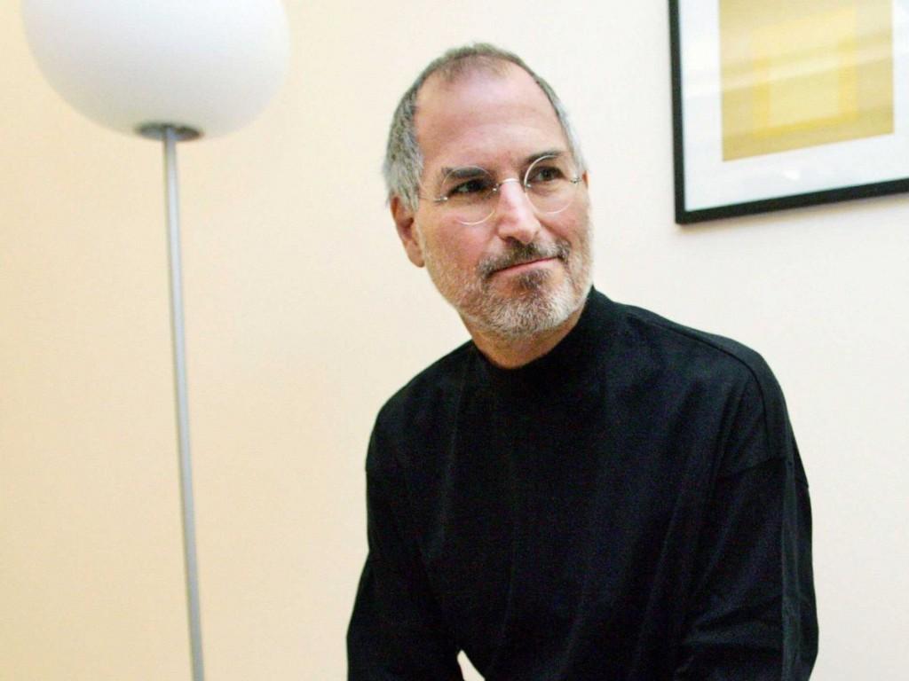 Steve Jobs meditation  - Magazine cover