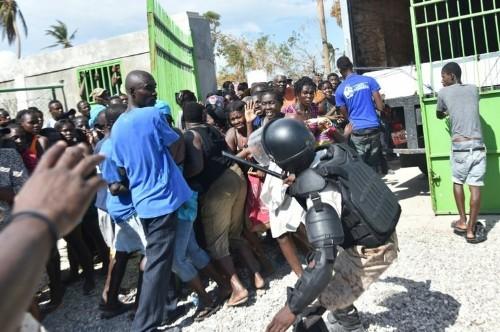 UN worried over attacks on aid convoys in hurricane-hit Haiti