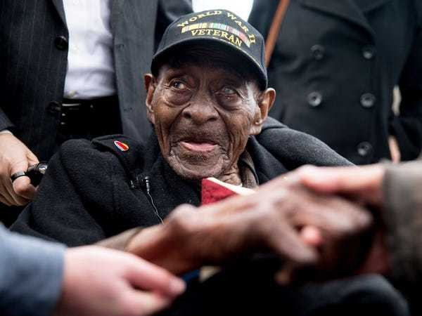 The US's oldest World War II veteran has died at 110 - Business Insider