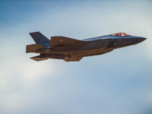 The Air Force's first F-35s will be fully ready for war next month