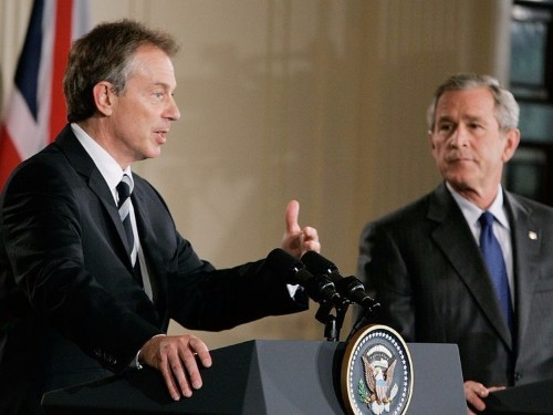 DE-CLASSIFIED LETTERS: From Tony Blair to George Bush about the Iraq War