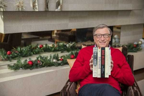 Bill Gates reveals his 5 favorite books he read in the past year - Business Insider