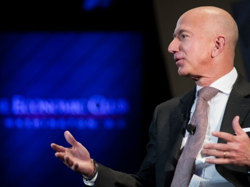 Jeff Bezos donated $100 million to fighting homelessness