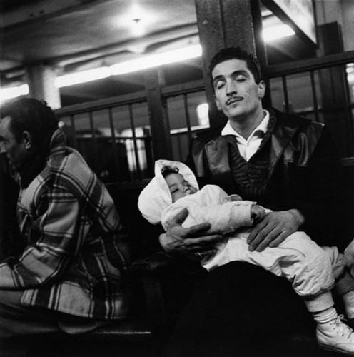 Candid Photos Of New Yorkers Riding The Subway In 1960