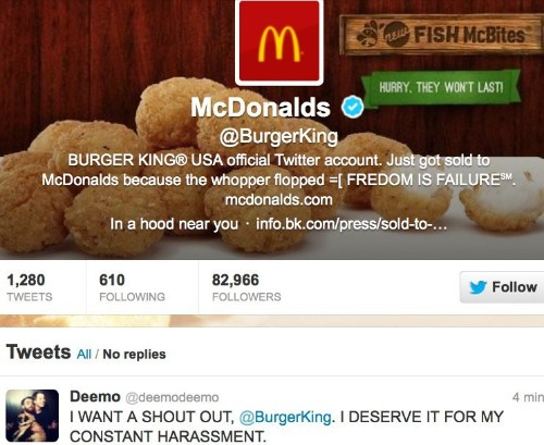 Burger King's Twitter Got Hacked And Tweeted Crazy McDonald's Messages