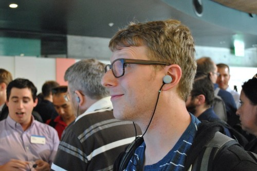 Google's new headphones have a universal translator feature for 40 languages — and I got to try it