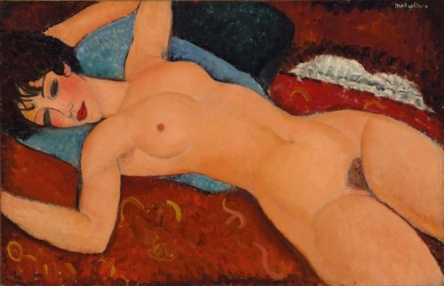 The guy who bought this $170 million Modigliani nude charged it to his AmEx card