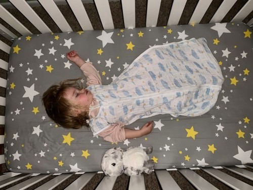 Harry Potter-print baby blankets from aden + anais that my daughter loves - Business Insider