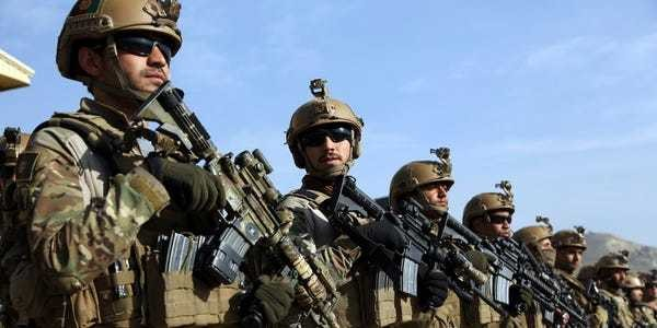 US-trained forces in Afghanistan suffer major losses to Taliban - Business Insider