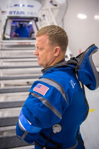 Boeing just unveiled its slick new 'Starliner' spacesuit to protect a new generation of NASA astronauts