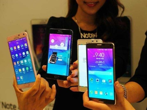 Samsung Launched Its New Gigantic Smartphone — The Galaxy Note 4 — Ahead Of Schedule
