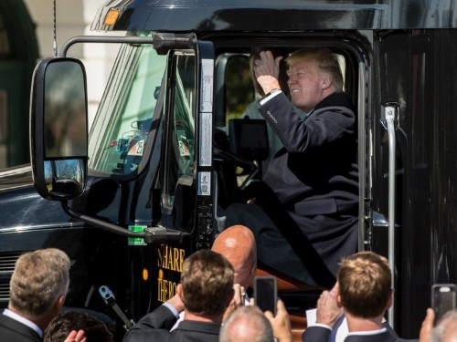 Truckers blame Trump for trucking 'bloodbath' despite voting for him