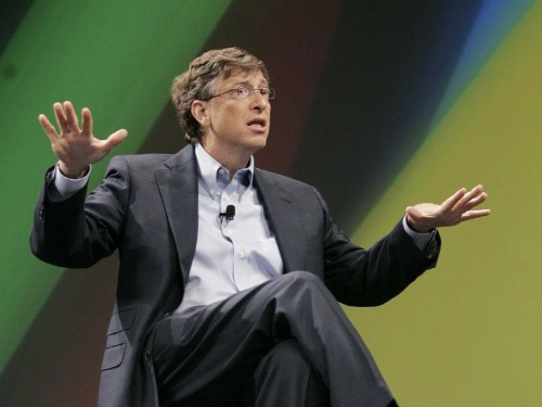 BILL GATES IS THE RICHEST MAN IN THE WORLD AGAIN