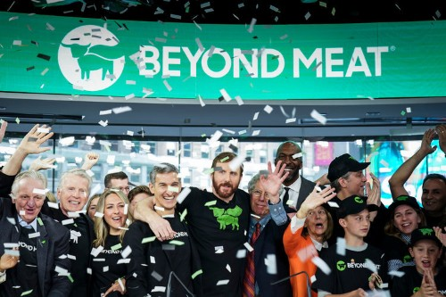 Beyond Meat skyrockets as expectations for the company's second-quarter earnings mount