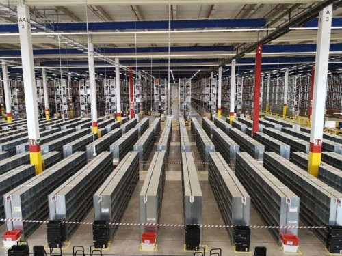 What it's like in a giant Amazon fulfilment center ahead of Prime Day