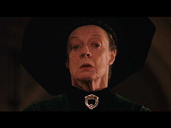 'Harry Potter' director was scared of McGonagall actress Maggie Smith - Business Insider