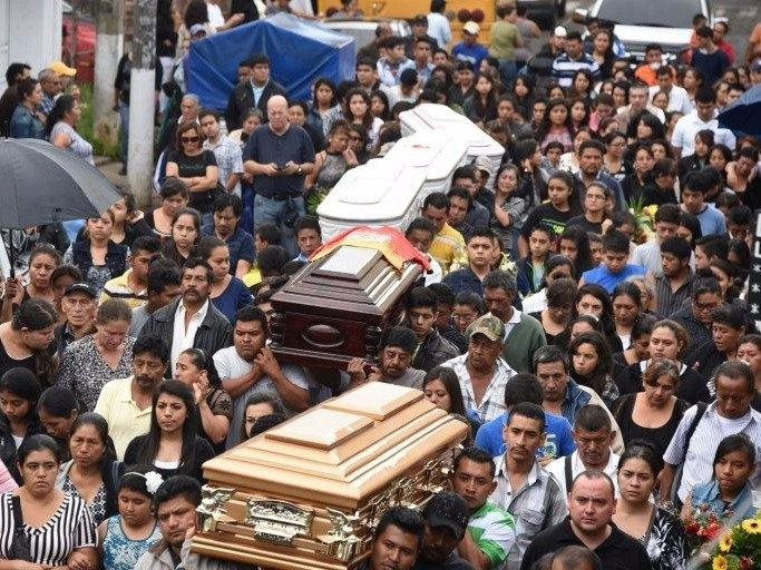At least 131 people were killed in a Guatemala landslide and hundreds are still missing