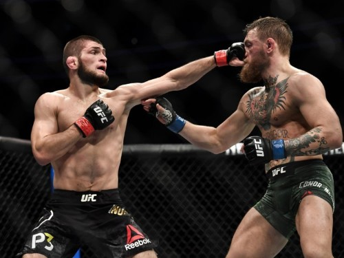 Khabib Nurmagomedov challenges Conor McGregor to actually win a fight before they even talk about a rematch