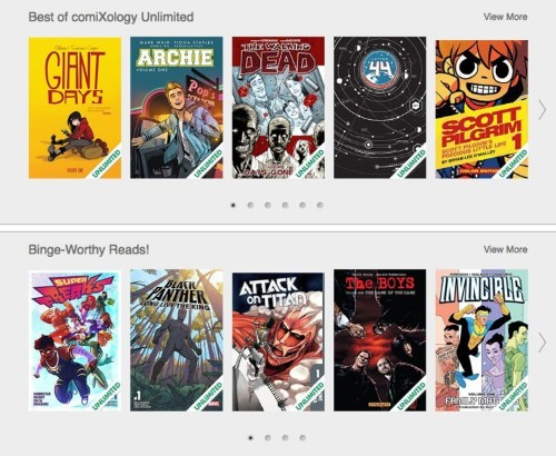 Amazon's Comixology could revitalize comic books, creators say
