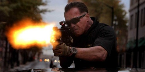 Reviews For Arnold Schwarzenegger's New Movie 'Sabotage' Are Terrible