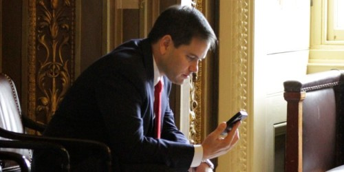 Marco Rubio blasts Apple for its 'arrogance' in slowing down iPhones with older batteries