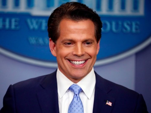 Anthony Scaramucci just took his feud with Reince Priebus public in a wild CNN interview