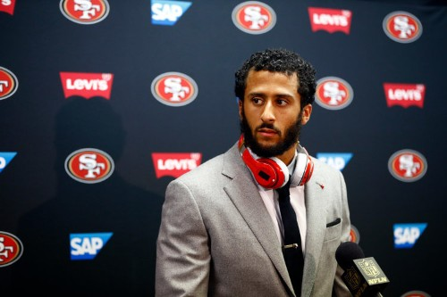 The 49ers have benched Colin Kaepernick — and it looks like he's done in San Francisco