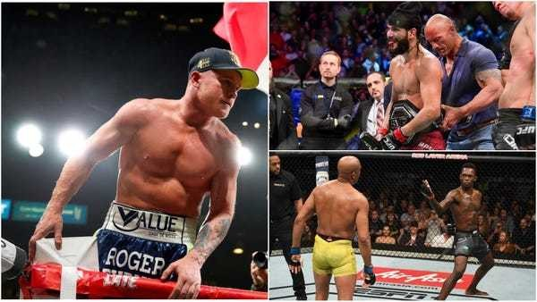 RANKED: The 25 best fighters of 2019 - Business Insider