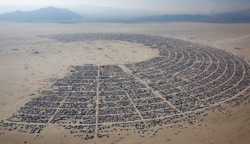 Burning Man may be forced to build concrete wall around festival