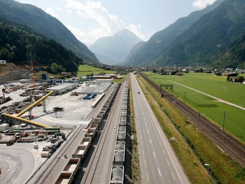 Switzerland has completed construction on the world's longest tunnel