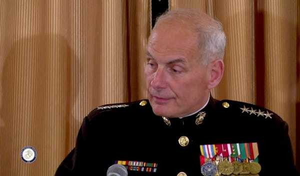 John Kelly's letter for 2 heroic Marines who stopped a suicide bomber - Business Insider