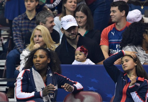 Serena Williams says her daughter is too 'loud and obnoxious' to bring to the US Open