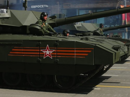 Russia is becoming an increasingly big player in the arms industry