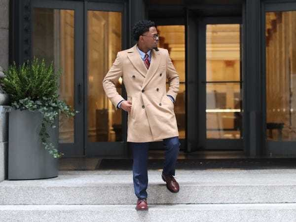 Indochino men's overcoat review: What it's like to design custom outerwear - Business Insider