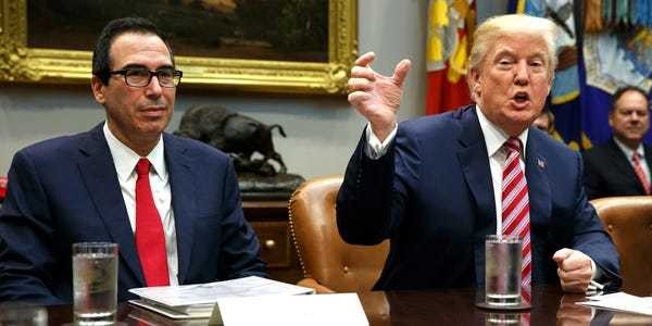 Trump reportedly blames Steven Mnuchin for Fed chair recommendation - Business Insider