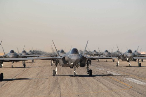F-35 elephant walk China's J-20 or Russia's Su-57 can't come close to - Business Insider