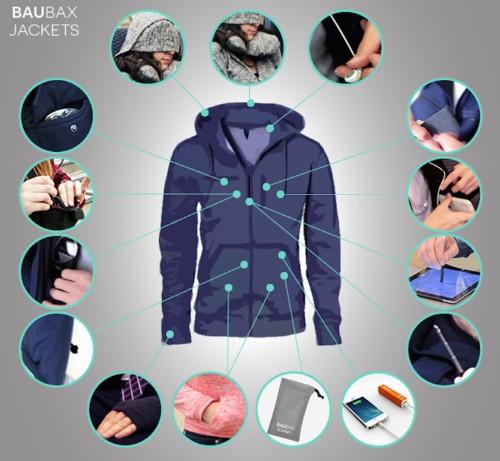 This 'Swiss Army Knife of jackets' just raised nearly $1.7 million on Kickstarter