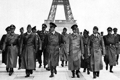 Hitler's Nazi army was kicked out of Paris 73 years ago Friday