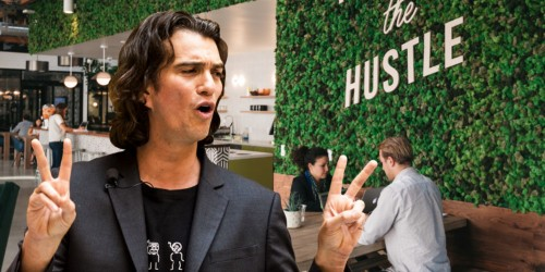WeWork just announced a Nasdaq listing and fresh limits on CEO Adam Neumann