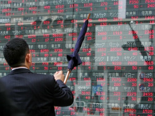 Asian Markets Are Up