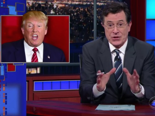 Stephen Colbert says this last-ditch effort to get rid of Trump could be 'the death of the GOP'