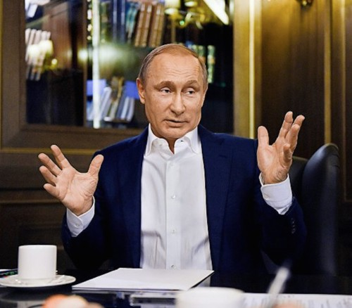 PUTIN: The deterioration of Russia's relationship with the West is the result of many 'mistakes'