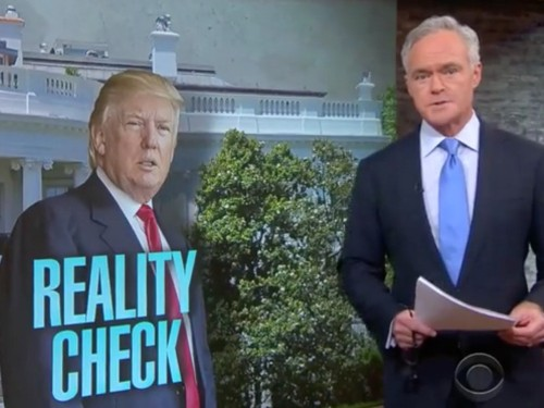 'Divorced from reality': CBS anchor slams Trump after wild day of inaccurate comments