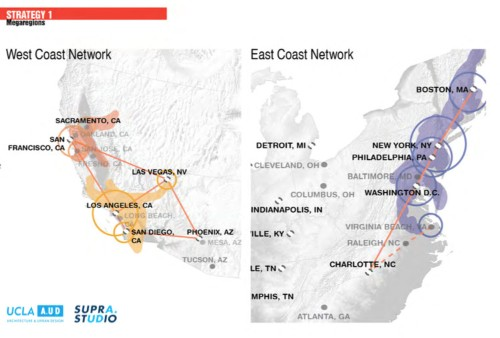 These maps break down the cities that would benefit most from a Hyperloop system