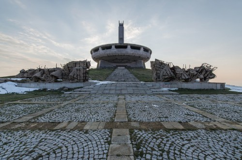 Witness the haunting beauty of the epic Soviet-era monolith abandoned in the Bulgarian mountains