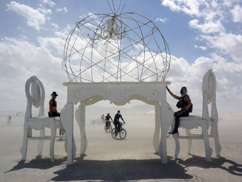 Why this company pays for its employees to attend Burning Man