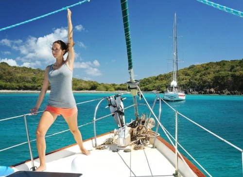This couple sold all their possessions to fund a sailboat journey around the world