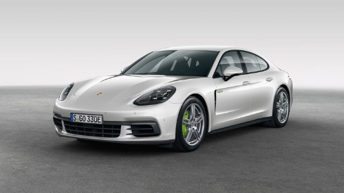 Porsche just unveiled a new model of its Panamera hybrid — and it looks amazing